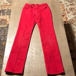 OldNavy skinny red jeans - girls sz 8
